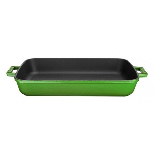 pekáč smaltovaný zelený litina