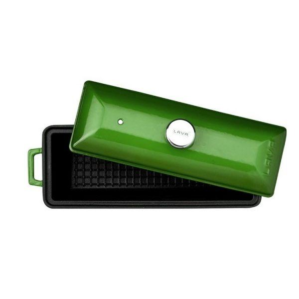 litionová terina zelená
