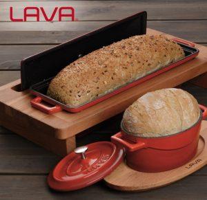 litinové pekáče na chleba