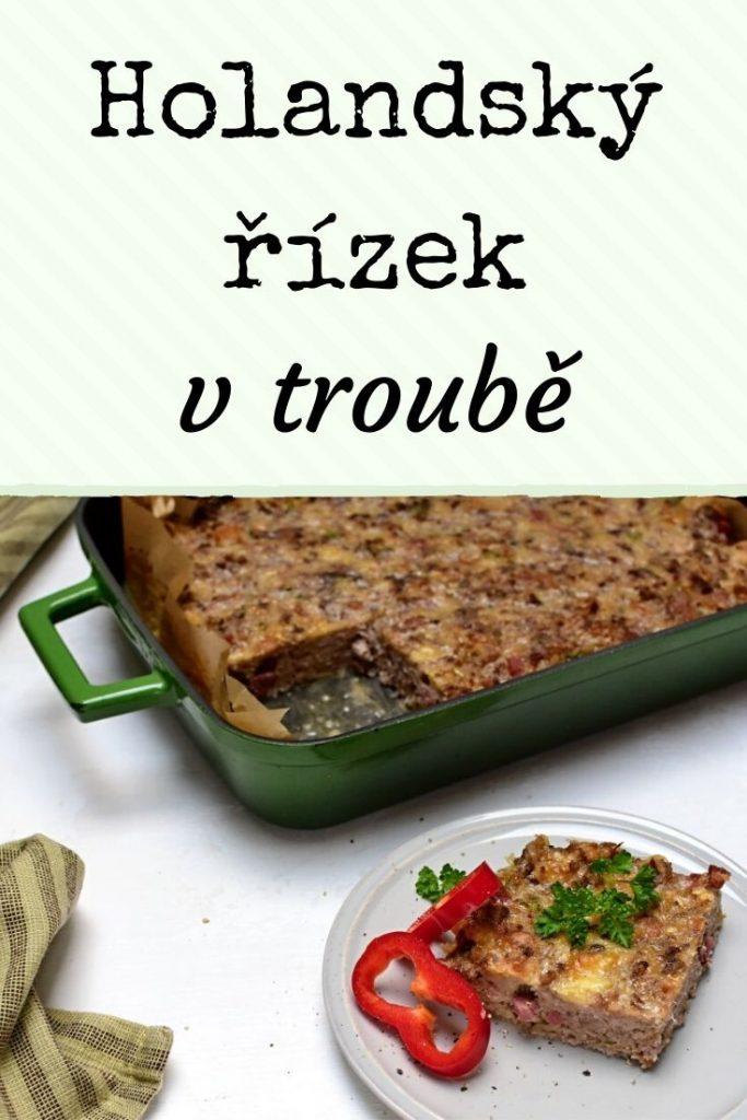 holandský řízek v troubě recept