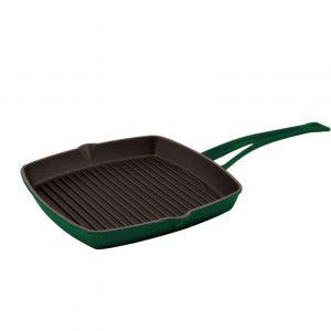 Litinová grilovací pánev 26x26 cm - zelená od značky LAVA Metal