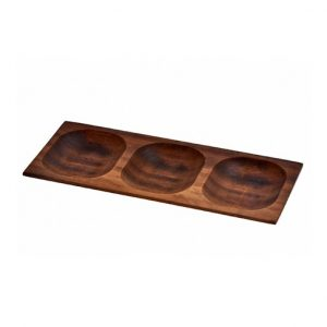 servírovací dřevěná mísa lava wood