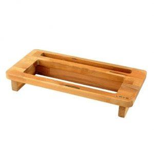 dřevěný podstavec na terinu