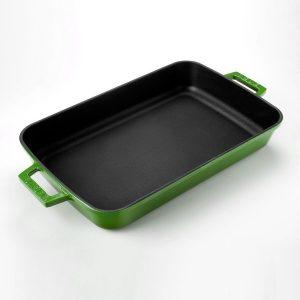 Litinový pekáč 22x30cm - zelený od značky LAVA Metal