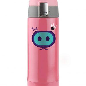 Dětská růžová termoska 200ml od značky ASOBU